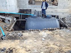 วิธีติดตั้งถังบำบัดน้ำเสียถูกต้อง