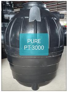 ถังบำบัดน้ำเสียสำเร็จรูปเติมอากาศ3000ลิตร