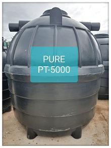 ถังบำบัดน้ำเสียสำเร็จรูปเติมอากาศ5000ลิตร