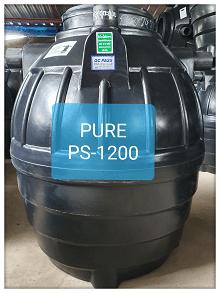 ถังบำบัดน้ำเสีย1200ลิตร