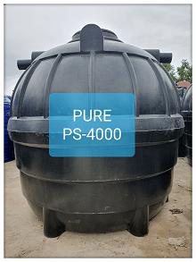 ถังบำบัดน้ำเสียสำเร็จรูป4000ลิตร