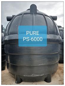 ถังบำบัดน้ำเสียสำเร็จรูป6000ลิตร