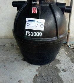 ถังบำบัดน้ำเสีย1000ลิตรราคาถูก