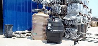 ถังบำบัดน้ำเสีย2000ลิตรราคาถูก