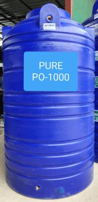 ถังเก็บน้ำบนดิน1000ลิตร