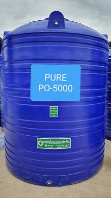 ถังเก็บน้ำบนดิน5000ลิตร