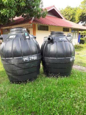 การรับประกันถังบำบัดน้ำเสีย
