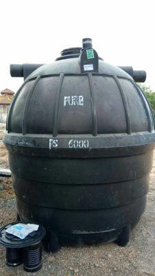 การทำงานถังบำบัดน้ำเสีย