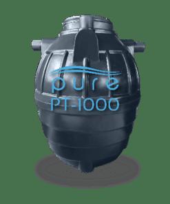 ถังบำบัดน้ำเสียสำเร็จรูปเติมอากาศ1000ลิตร