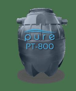 ถังบำบัดน้ำเสียสำเร็จรูปเติมอากาศ800ลิตร