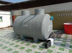 ถังบำบัดน้ำเสียขนาดใหญ่10000ลิตร