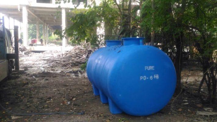 ถังเก็บน้ำฝังดิน30000ลิตร