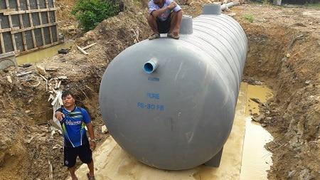 คำถามเกี่ยวกับถังบำบัดน้ำเสีย