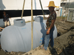วิธีเลือกถังบำบัดน้ำเสีย