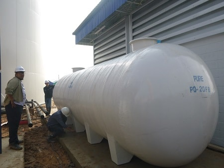 ถังบำบัดน้ำเสีย40000ลิตร